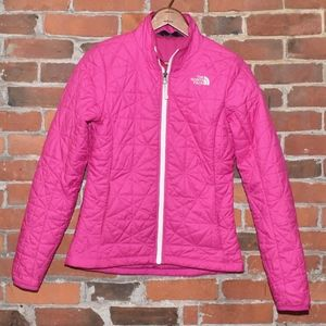 The North Face Women's Pink Quilted Fall Jacket XS